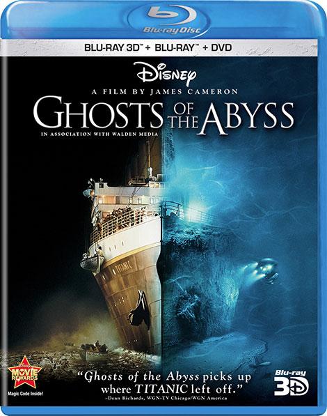 دانلود مستند ارواح عوطه ور Ghosts of the Abyss 2003