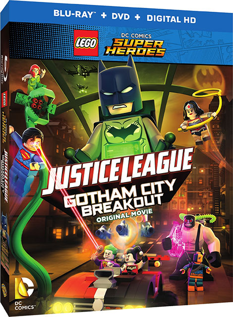 دانلود انیمیشن Justice League - Gotham City Breakout 2016