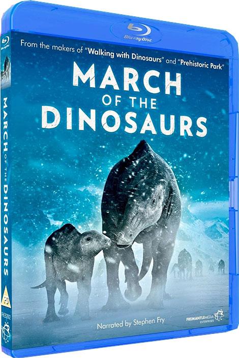 دانلود مستند انیمیشن March of the Dinosaurs 2011