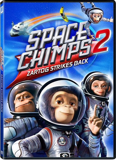 دانلود دوبله فارسی انیمیشن میمون های فضایی Space Chimps 2010