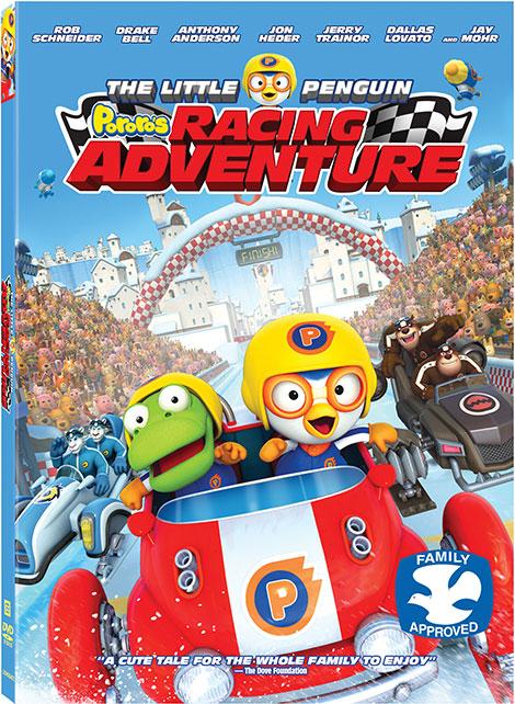دانلود دوبله فارسی انیمیشن Pororo's Racing Adventure 2013