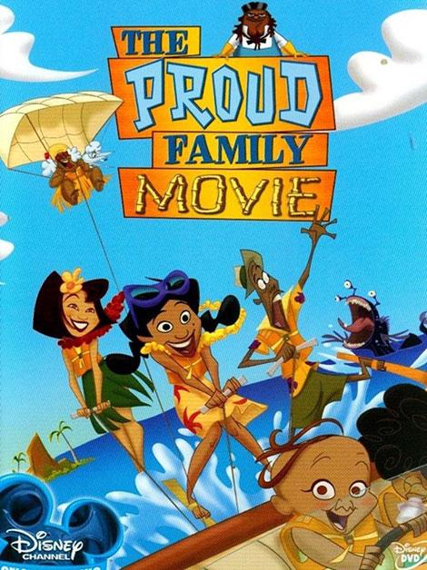 دانلود انیمیشن خانواده پراد The Proud Family Movie 2005
