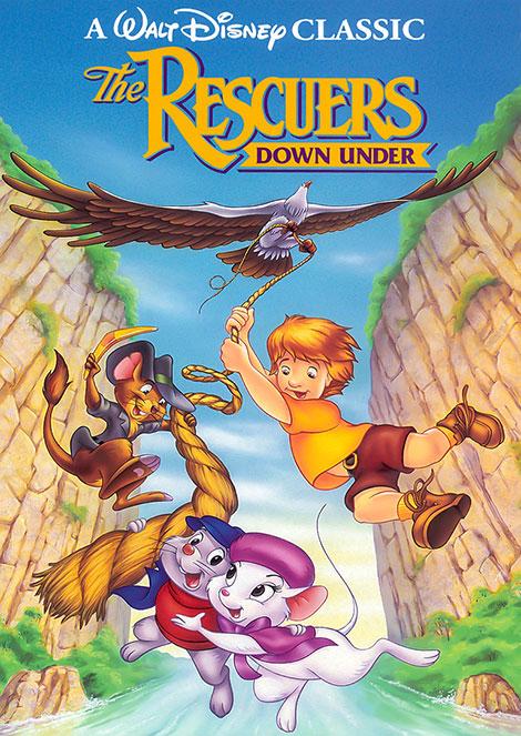 دانلود دوبله فارسی انیمیشن The Rescuers Down Under 1990