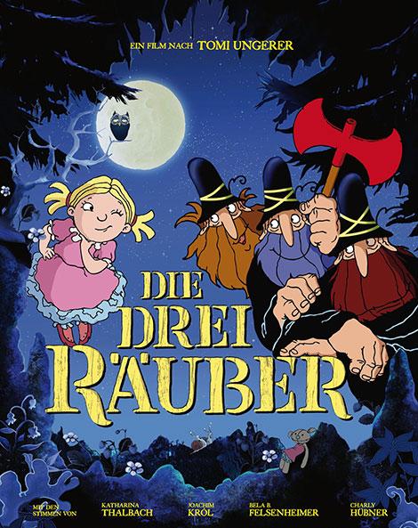 دانلود دوبله فارسی انیمیشن سه راهزن The Three Robbers 2007
