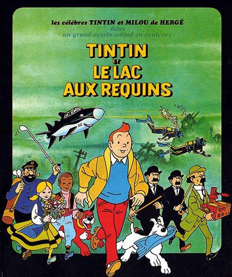 دانلود دوبله فارسی انیمیشن Tintin and the Lake of Sharks 1972