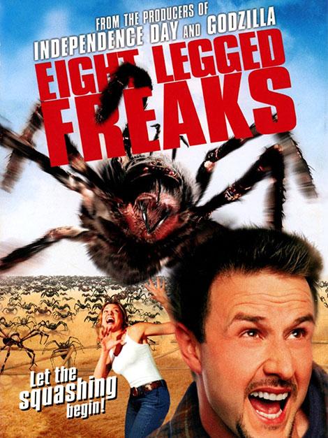 دانلود دوبله فارسی فیلم Eight Legged Freaks 2002