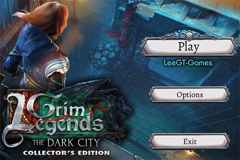 دانلود بازی فکری Grim Legends 3: The Dark City Collector's Edition