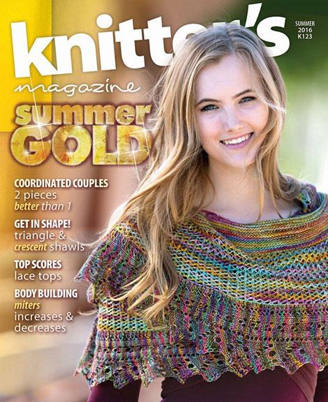 دانلود مجله بافتنی تابستانی Knitter Magazine - Summer 2016