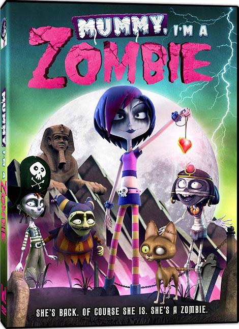 دانلود دوبله فارسی انیمیشن Mummy, I'm A Zombie 2014