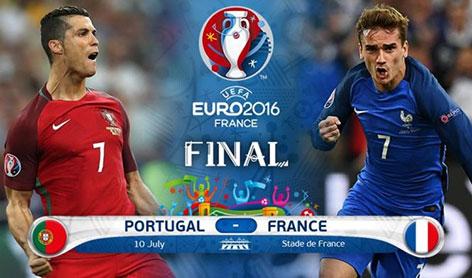 Euro 2016 Final France vs Portugal