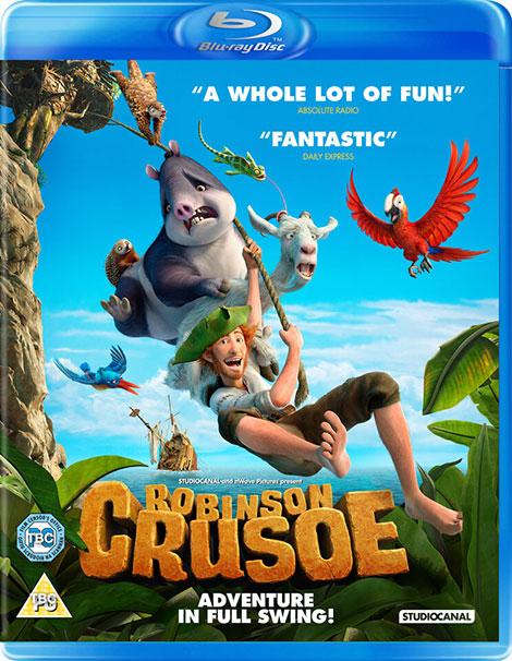 دانلود دوبله فارسی انیمیشن Robinson Crusoe 2016