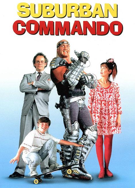 دانلود دوبله فارسی فیلم Suburban Commando 1991