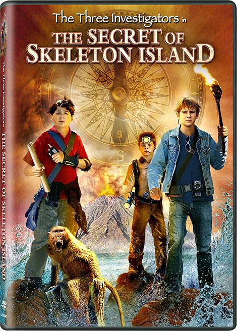 دانلود دوبله فارسی فیلم سه کارآگاه در جزیره اشباح The Three Investigators 2007
