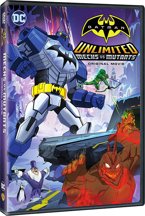 دانلود انیمیشن Batman Unlimited: Mech vs Mutants 2016