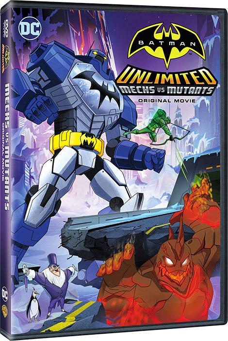 دانلود انیمیشن Batman Unlimited: Mech vs Mutants 2016