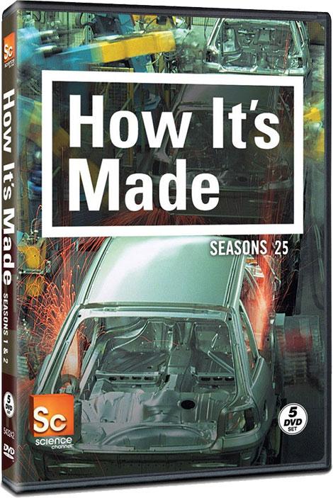 فصل بیست و پنجم مستند چگونه ساخته می شود How It's Made, طرز ساخت وسایل, خط تولید اشیاء مختلف, نحوه آشنایی با ساخت همه چیز, دانلود مستند چگونه ساخته میشود فصل 25