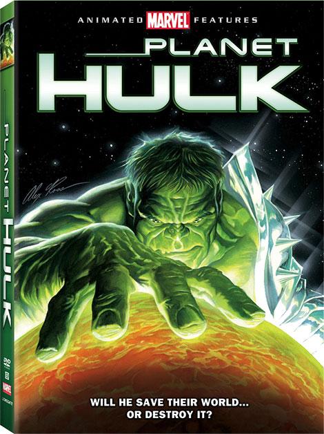 دانلود دوبله فارسی انیمیشن سیاره هالک Planet Hulk 2010