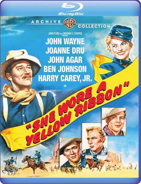 دانلود دوبله فارسی فیلم She Wore a Yellow Ribbon 1949