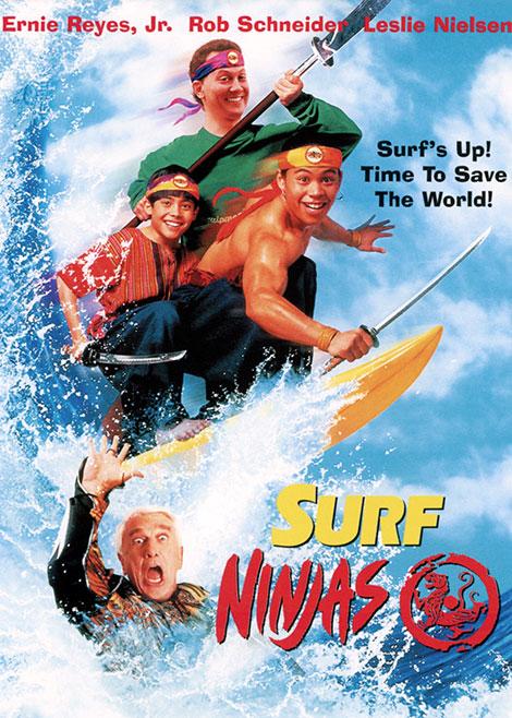 دانلود دوبله فارسی فیلم نینجاهای موج سوار Surf Ninjas 1993