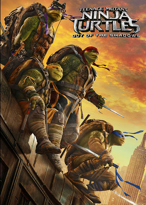 دانلود فیلم Teenage Mutant Ninja Turtles: Out of the Shadows 2016