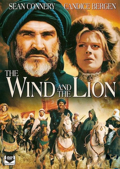 دانلود دوبله فارسی فیلم شیر و باد The Wind and the Lion 1975