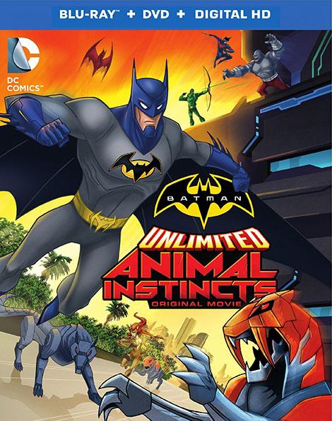 دانلود دوبله فارسی انیمیشن Batman Unlimited: Animal Instincts 2015