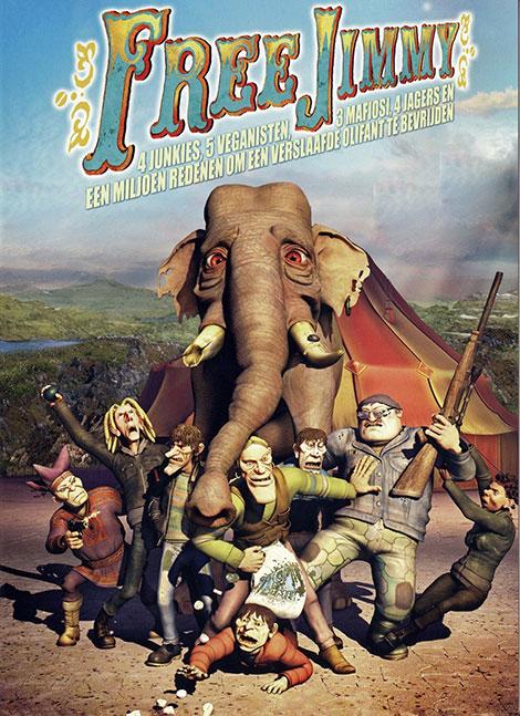 دانلود دوبله فارسی انیمیشن جیمی آزاد Free Jimmy 2006