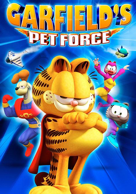 دانلود انیمیشن Garfield's Pet Force 2009