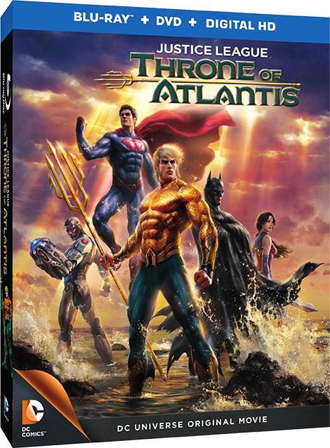 دانلود دوبله فارسی Justice League: Throne of Atlantis 2015