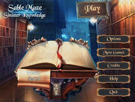 دانلود بازی Sable Maze 6: Sinister Knowledge Collector's Edition