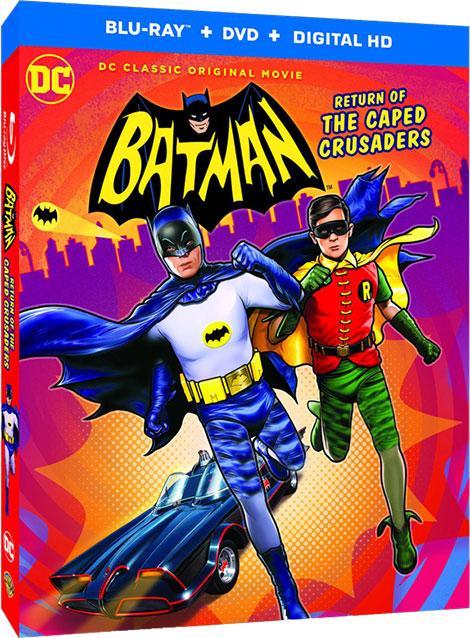 دانلود انیمیشن Batman: Return of the Caped Crusaders 2016