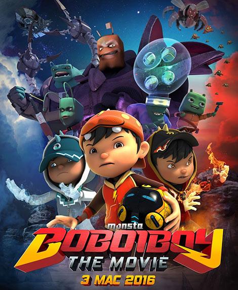 دانلود انیمیشن بوبویبوی BoBoiBoy: The Movie 2016
