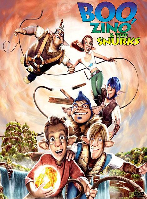 دانلود دوبله فارسی انیمیشن Boo, Zino & the Snurks 2004