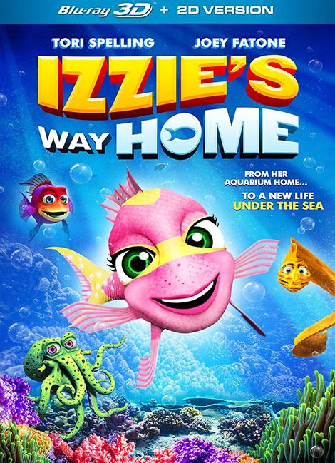 دانلود انیمیشن راه خانه ایزی Izzies Way Home 2016