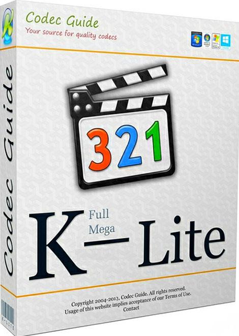 دانلود نرم افزار کی-لایت کدک پک K-Lite Codec Pack