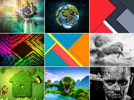 دانلود مجموعه 75 والپیپر هنری خلاقانه Creative Art HD Wallpapers