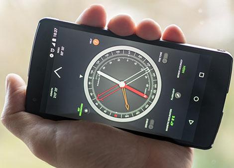 دانلود اپلیکیشن قطب نمای حرفه ای Compass Pro v1.32