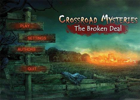 دانلود بازی Crossroad Mysteries: The Broken Deal Final