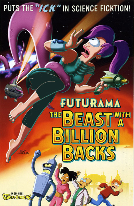 دانلود انیمیشن Futurama: The Beast with a Billion Backs 2008