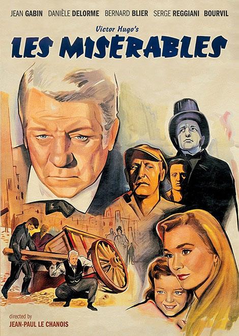 دانلود دوبله فارسی فیلم بینوایان Les Misérables 1958
