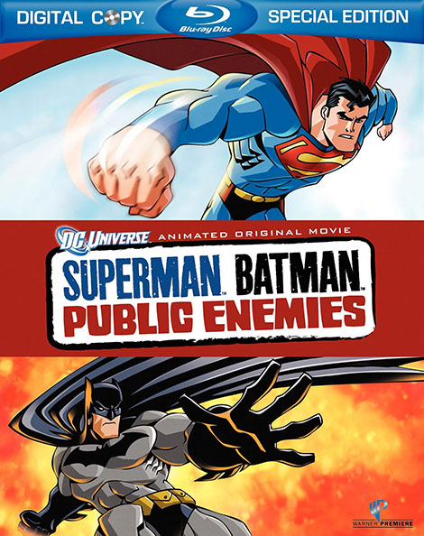 دانلود انیمیشن Superman/Batman: Public Enemies 2009