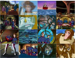 دانلود انیمیشن بیست هزار فرسنگ زیر دریا با دوبله فارسی