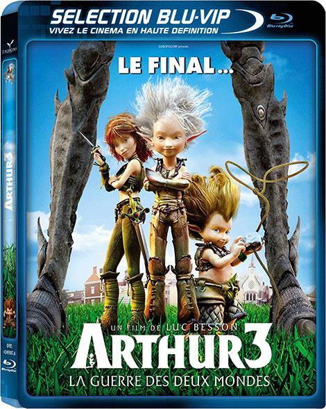 دانلود دوبله فارسی انیمیشن Arthur 3: The War of the Two Worlds 2010
