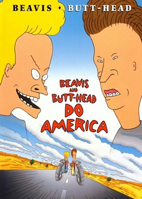 دانلود انیمیشن Beavis and Butt-Head Do America 1996
