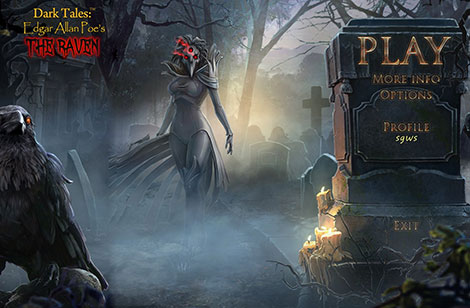 دانلود بازی Dark Tales 10: Edgar Allan Poe's The Raven Collector's Edition