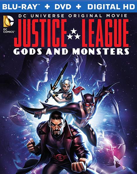 دانلود دوبله فارسی انیمیشن Justice League: Gods and Monsters 2015