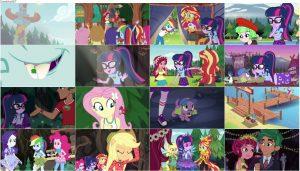 دانلود انیمیشن My Little Pony: Equestria Girls - Legend of Everfree 2016