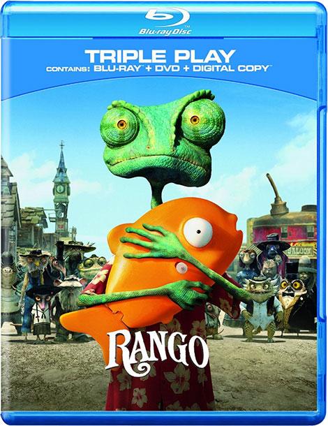 دانلود انیمیشن رنگو با دوبله فارسی Rango Extended 2011