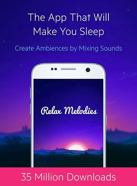 دانلود رایگان اپلیکیشن Relax Melodies Premium: Sleep & Yoga v6.1.1