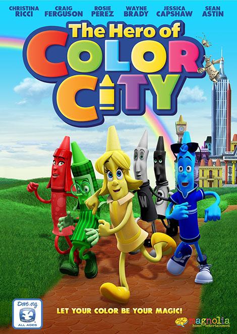 دانلود دوبله فارسی انیمیشن The Hero of Color City 2014